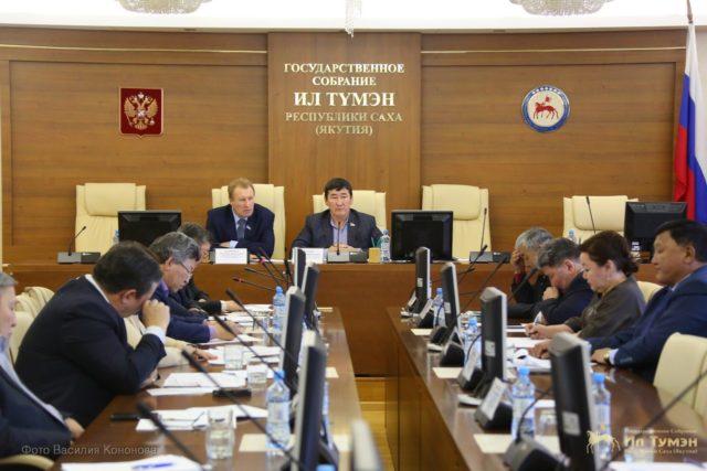 В Ил Тумэне обсудили ход реализации мероприятий общереспубликанского движения добрых дел «Моя Якутия в XXІ веке»