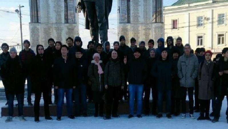 В Якутске на митинг против коррупции вышли 60 человек