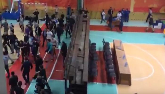 Громкий скандал на чемпионате Якутии по ММА