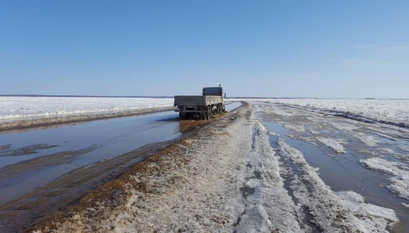 В субботу закроют ледовую переправу Якутск – Нижний Бестях
