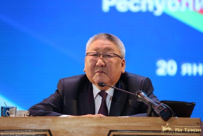Глава Якутии отчитается перед депутатами