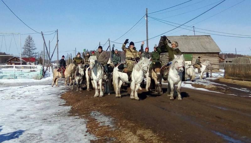 Школьники преодолеют 100 километров верхом на лошадях