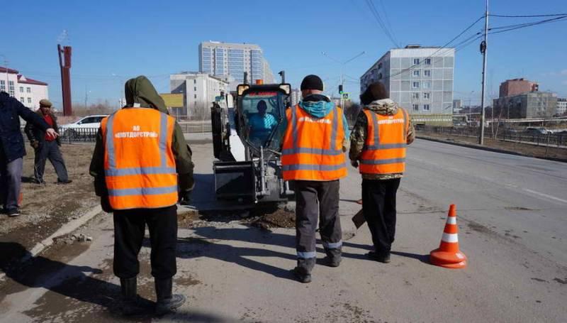 В Якутске впервые применят технологию укладки «холодного асфальта»