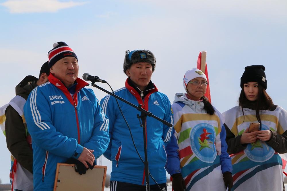 Преподаватели СВФУ сдали нормативы ГТО по лыжным гонкам