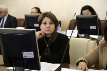 Марианна Магомедова досрочно сдала свой мандат