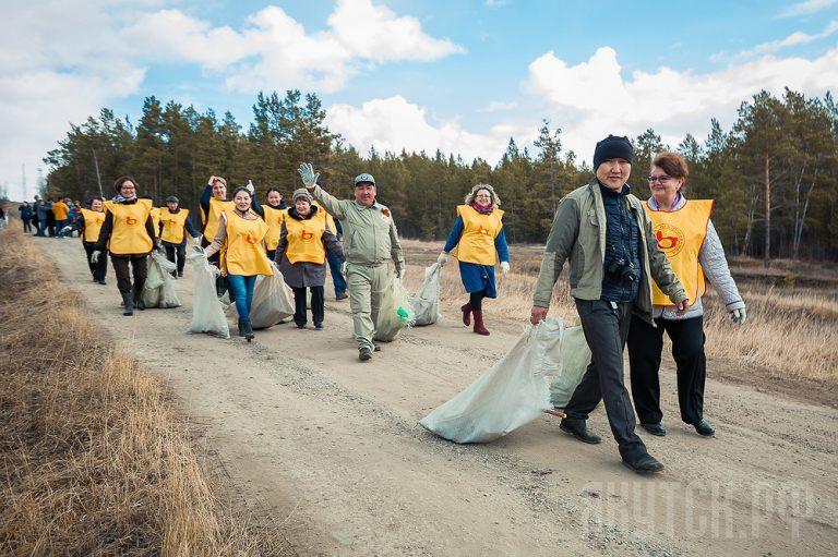 Всероссийский субботник «Зеленая Россия» сплотил жителей Якутска