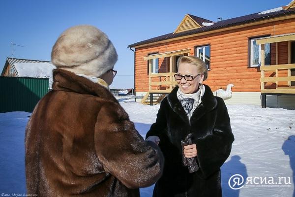 Галина ДАНЧИКОВА пообщалась с новоселами в поселке Оленек