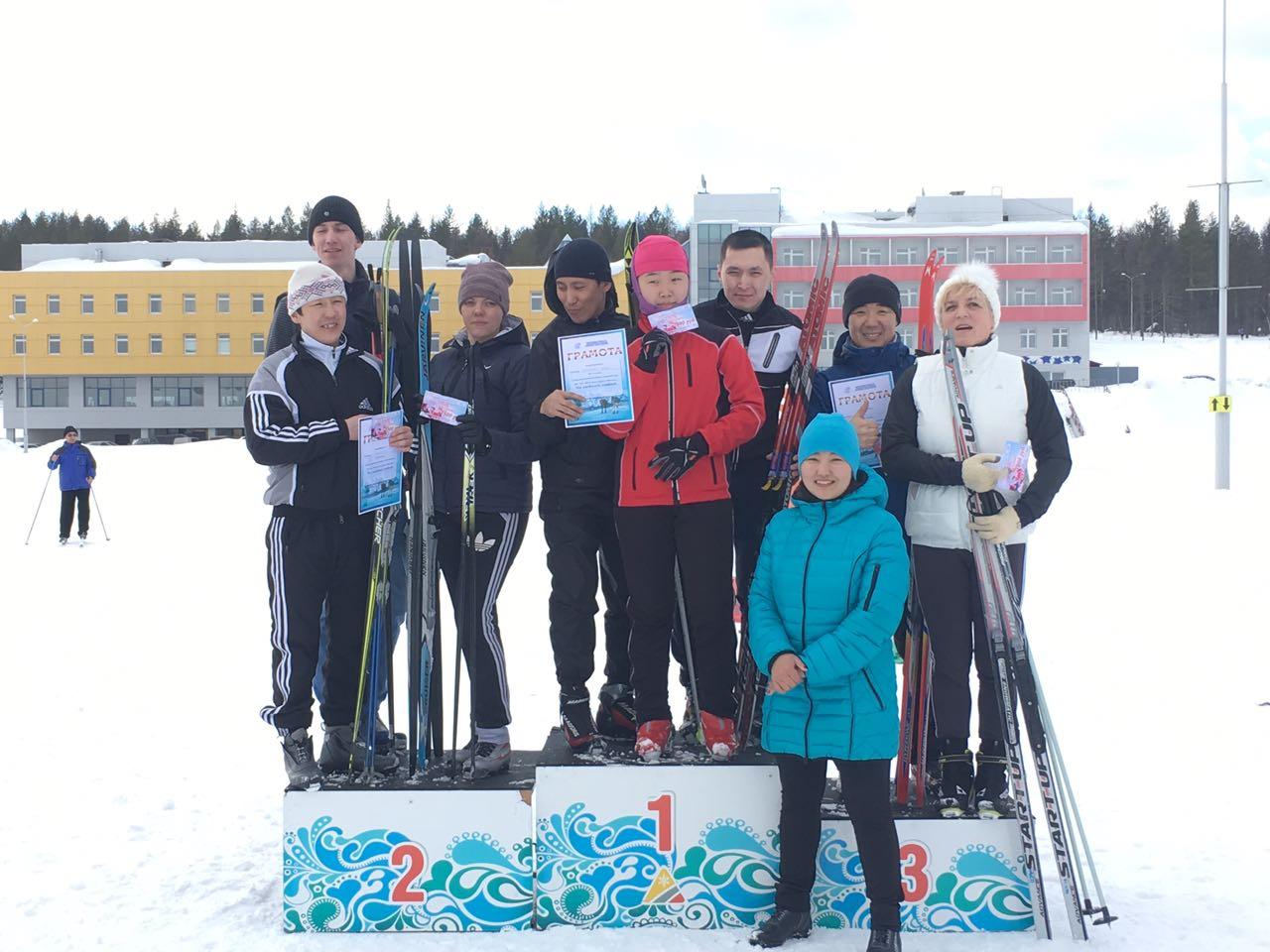 «Железные дороги Якутии» провели соревнования по лыжным гонкам.