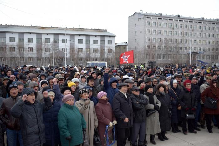 В Якутске возбудили дело против организатора Воскресного митинга