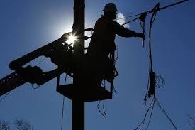 Временные ограничения электроснабжения на 13 апреля