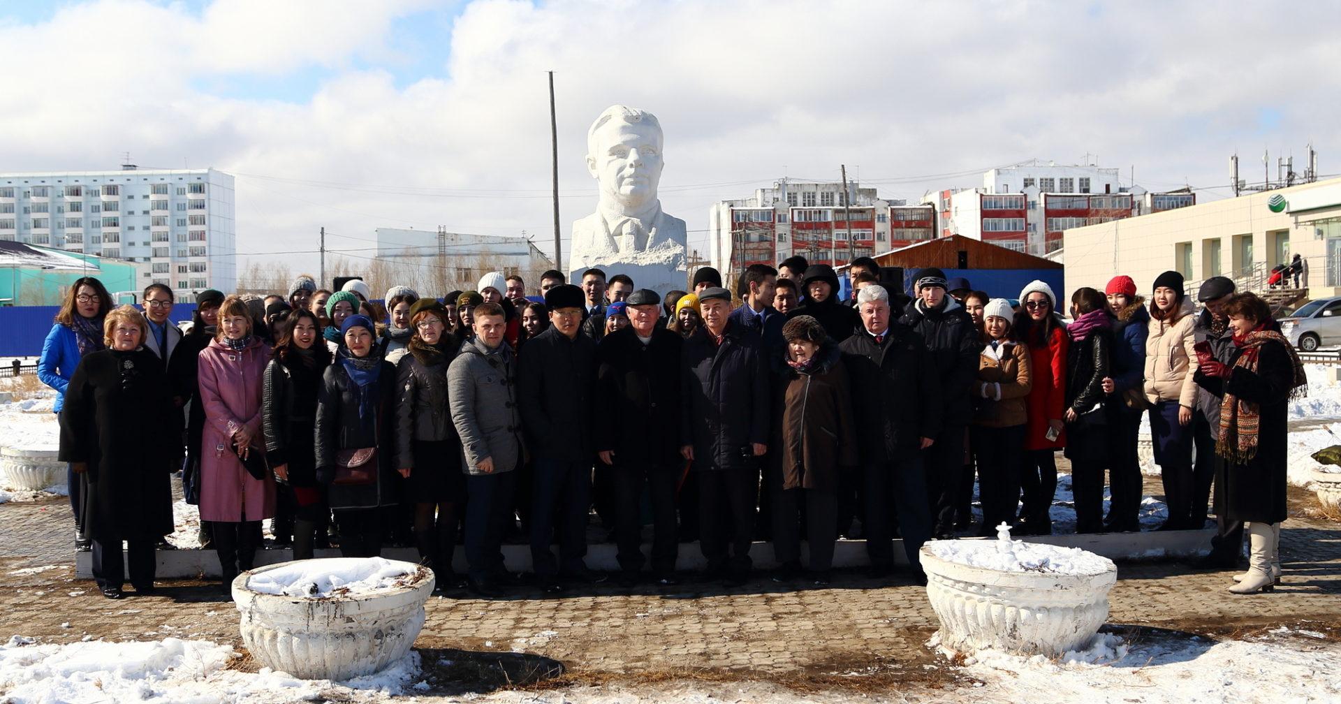 «Аэропорт Якутск» принял участие в митинге, посвящённом Дню космонавтики.