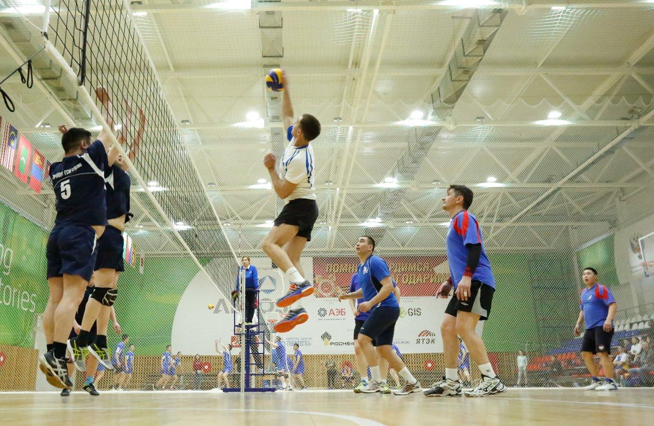 Команда аэропорта «Якутск» — победитель турнира по волейболу среди авиаторов