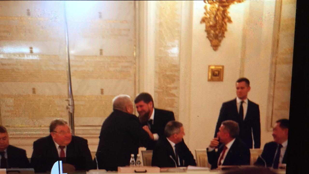 Главы Чечни и Якутии на Госсовете