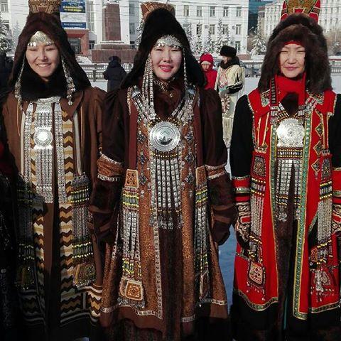 В Якутске пройдет дефиле в национальных нарядах