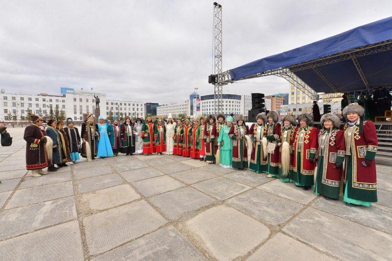 В Якутске дан старт к установлению рекорда Гиннесса