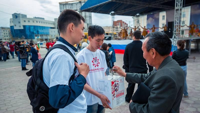 В год добра: жители Якутска доказали, что доброта не имеет границ
