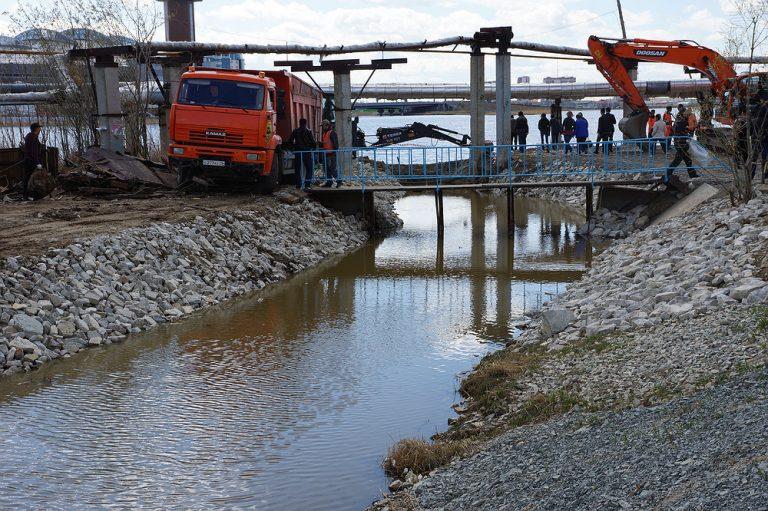 Историческое событие: восстановлена проточность Городского канала от Шестаковки до Даркылаха