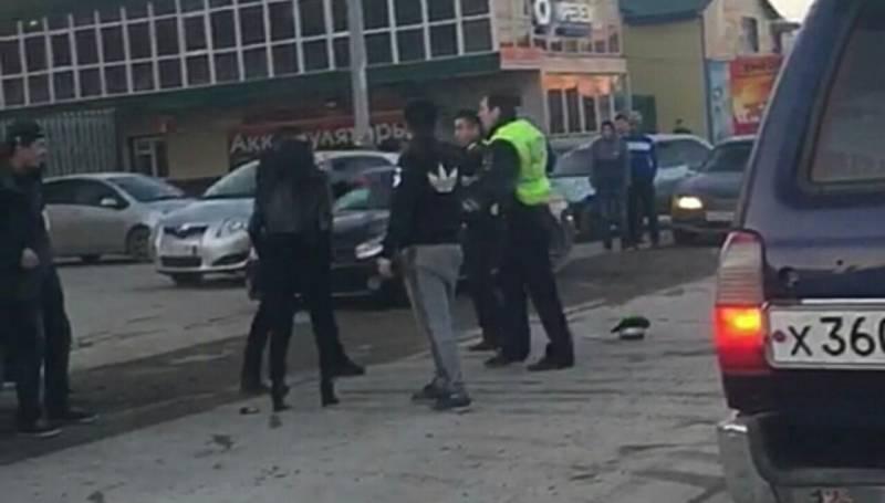 По факту инцидента с участием сотрудников ДПС в городе Якутске проводится процессуальная проверка