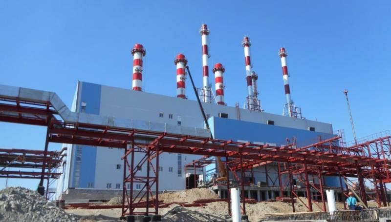 Якутской ГРЭС-2 прошли испытания третьей газотурбинной установки