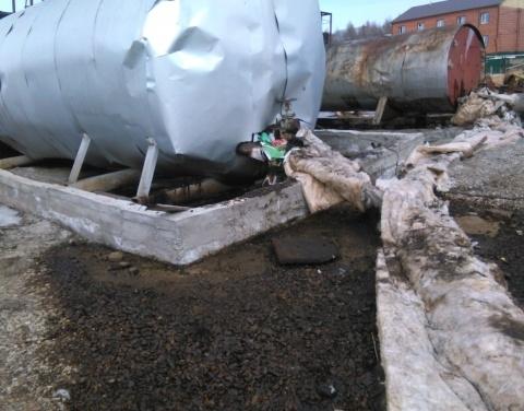 Обнаружен разлив нефтепродуктов на территории Оленекского улуса