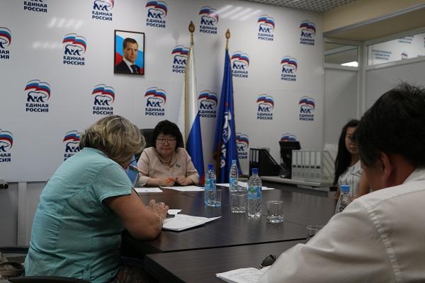 Елена Голомарева провела личный прием граждан