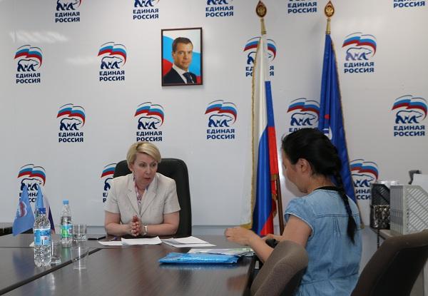 Ольга Балабкина провела личный прием граждан