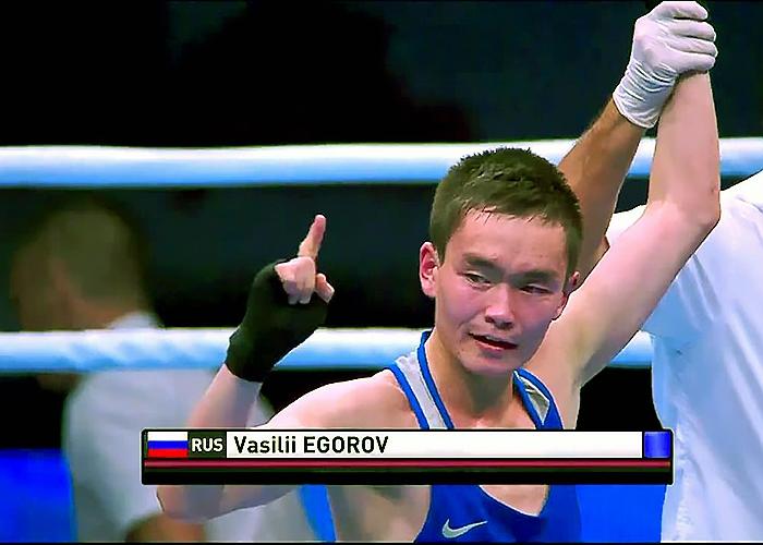 Василий Егоров стал двукратным чемпионом Европы