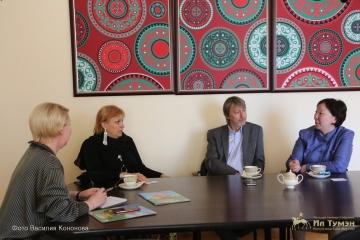 Ил Тумэне состоялась встреча с председателем правления НКО «Союз Женских Сил»