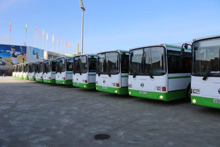 Схема движения автобусов в дни проведения Ысыаха Туймаады