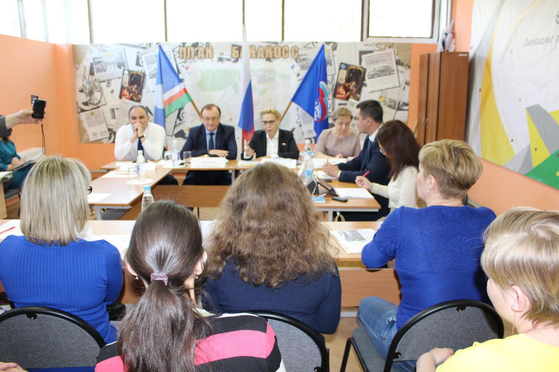 Галина Данчикова провела  личный прием  граждан  в Ленске