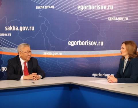 Прямой эфир с главой: Якутия сохраняет положительные макроэкономические показатели