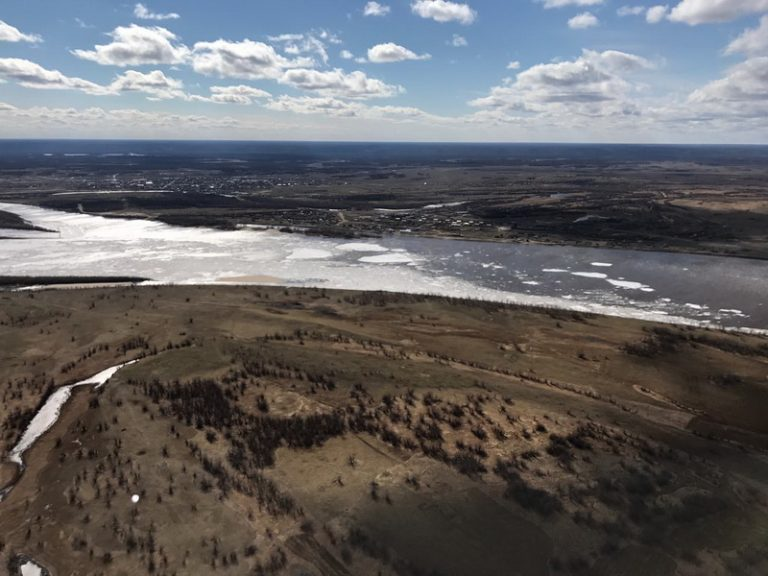 Паводковая обстановка в Якутии