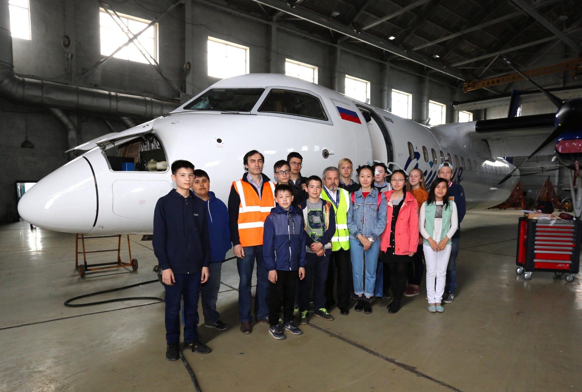 В аэропорту «Якутск» отметили Международный день защиты детей