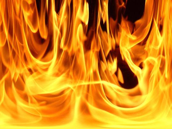 В Кобяйском улусе произошел пожар