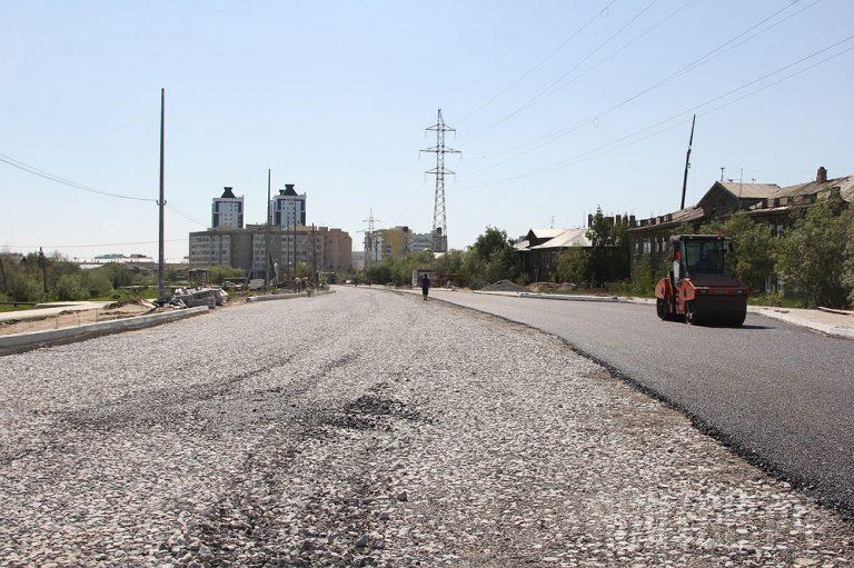 Ремонт улицы Кальвица в Якутске завершится осенью