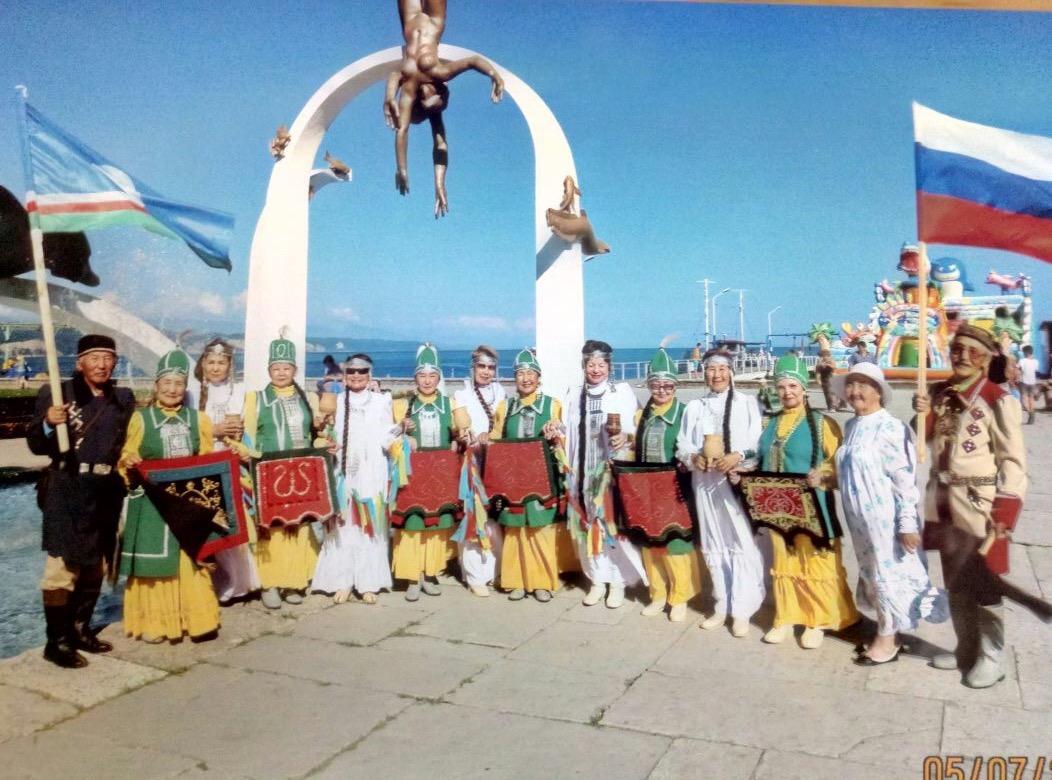 Наши на международном фестивале в Абхазии
