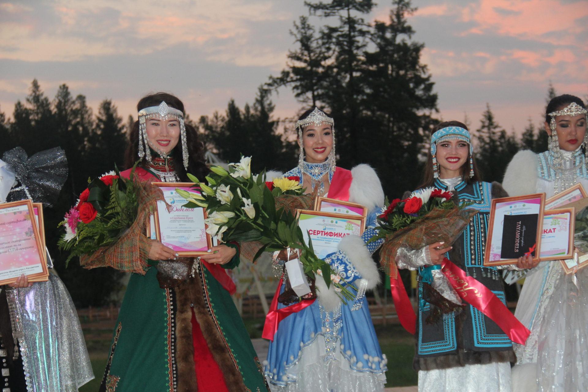 Самой красивой, талантливой девушкой молодежного ысыаха -2017 названа Алёна Ядреева
