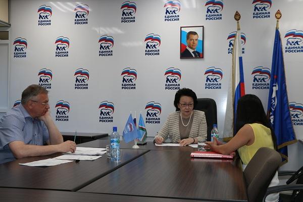 Евгения Михайлова провела личный прием граждан