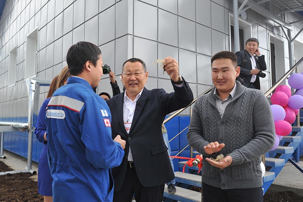 Кысыл-Сыр первым встретил 50-летний юбилей газификации Якутии