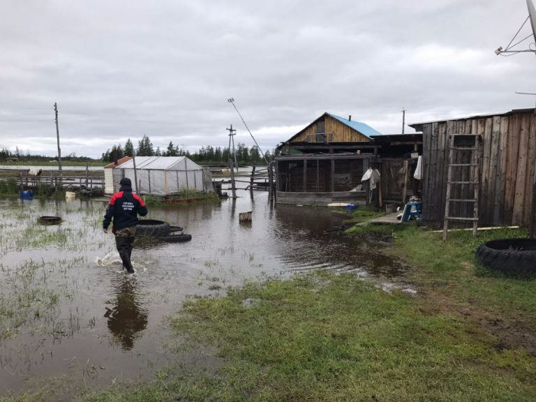 Режим ЧС действует в пяти селах Якутии
