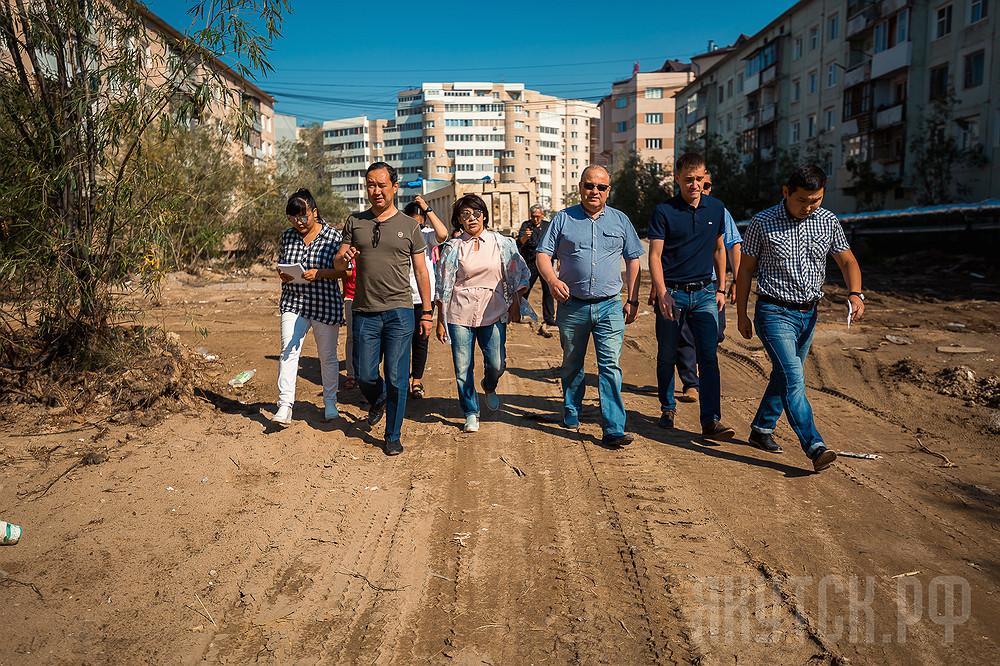 Объезд главы: строительство, дороги, городская среда