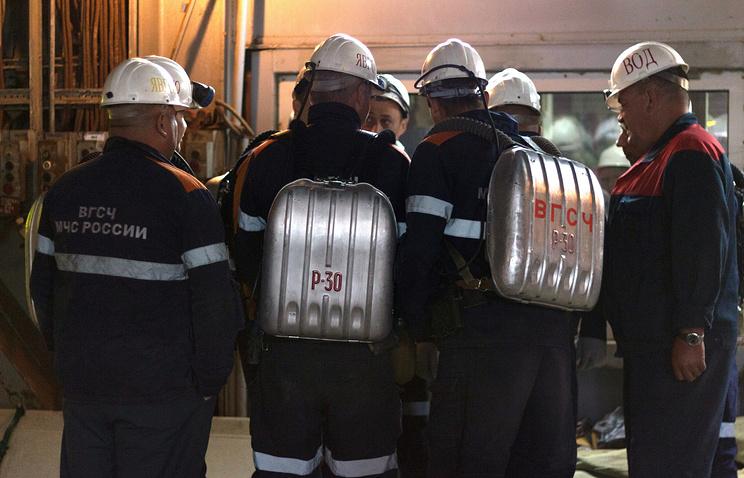 Спасатели прекратили работы в горных выработках рудника «Мир»