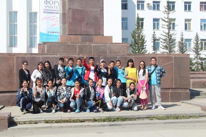 Китайские школьники отдохнули в Якутске
