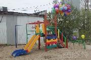 Год добра: в Сайсарском округе появилась еще одна детская площадка