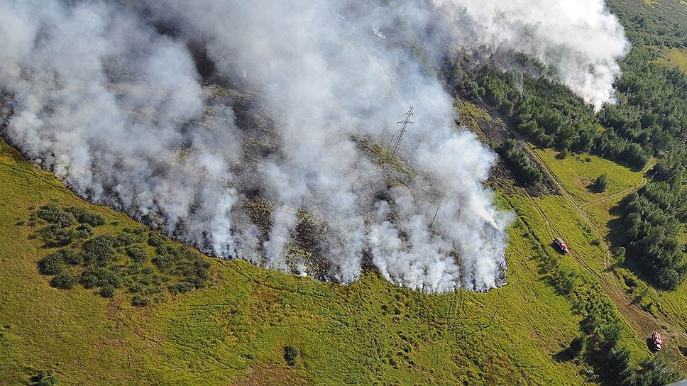 Якутские чиновники не справились с пожарами