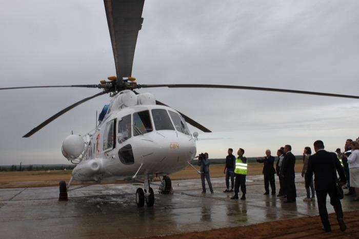 Санитарный вертолет Ми-8 МТВ впервые за 25 лет пополнил авиапарк Якутии
