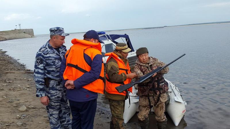 ГИМС: совместные рейды по реке Лена