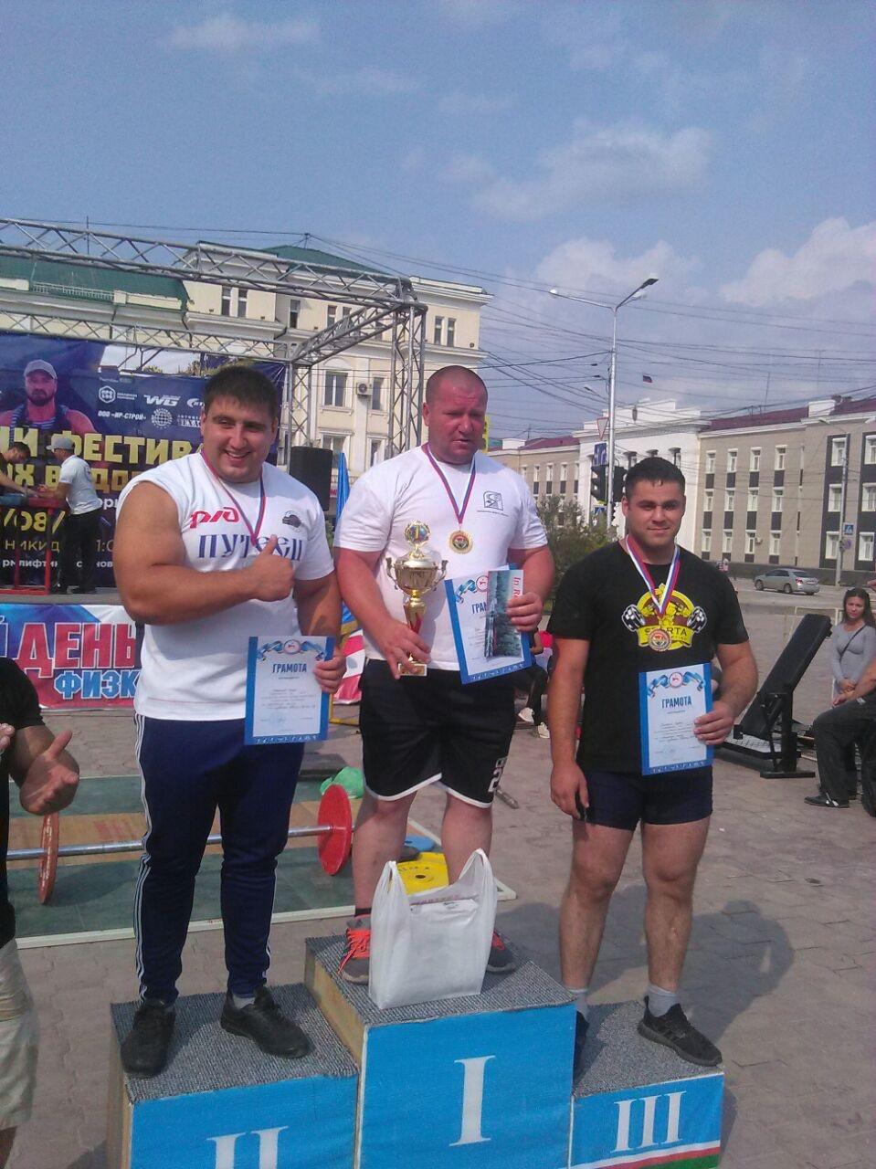 Мастер погрузо-разгрузочных работ Железных дорог Якутии Владимир Руди стал мастером спорта России