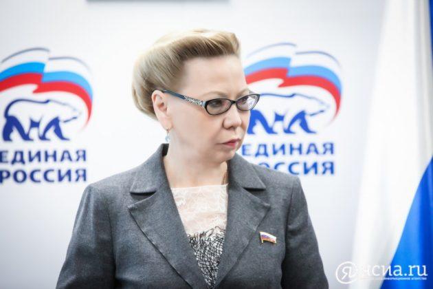 Галина Данчикова выступила одним из авторов законопроекта по совершенствованию федерального закона о госзакупках