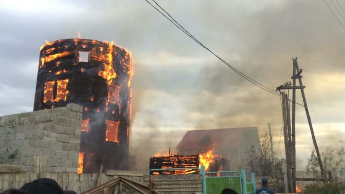 Для профилактики поджогов район Сайсар в Якутске будут патрулировать дружинники